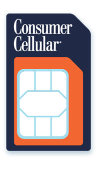 [PHOTO] Consumer Cellular SIM Card